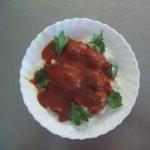 čufte v paradižnikovi omaki O